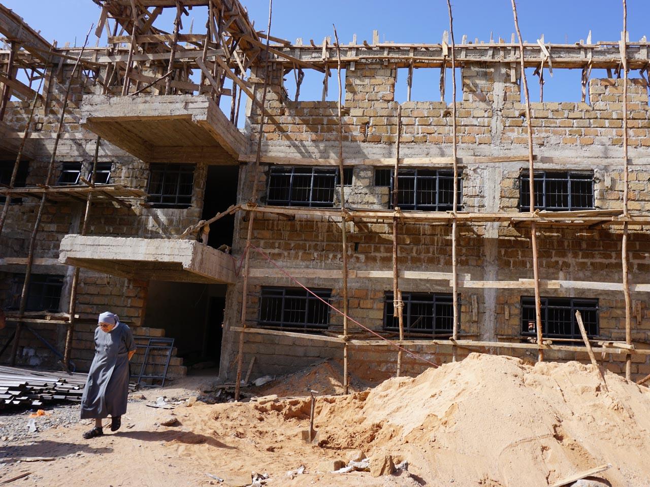 Febbraio 2017: innalzato l terzo piano della nuova struttura