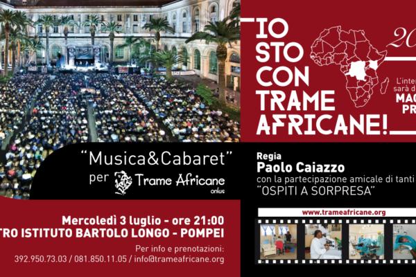 Io sto con Trame Africane 2019