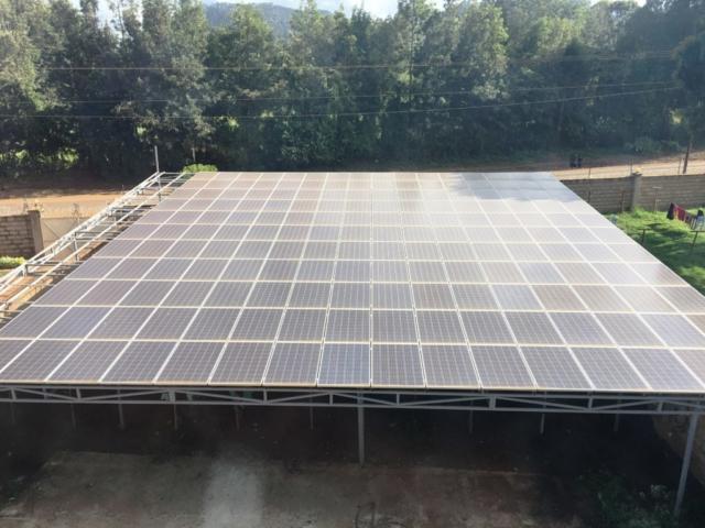 impianto fotovoltaico a kiirua