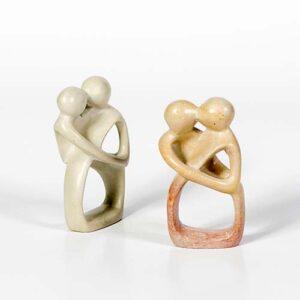 Baci e Abbracci in pietra saponaria