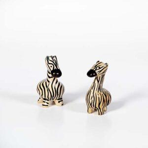 Zebra in pietra saponaria