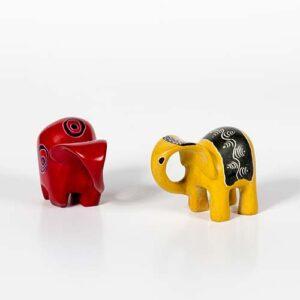 Elefante in pietra saponaria
