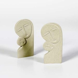 Madonna in pietra saponaria